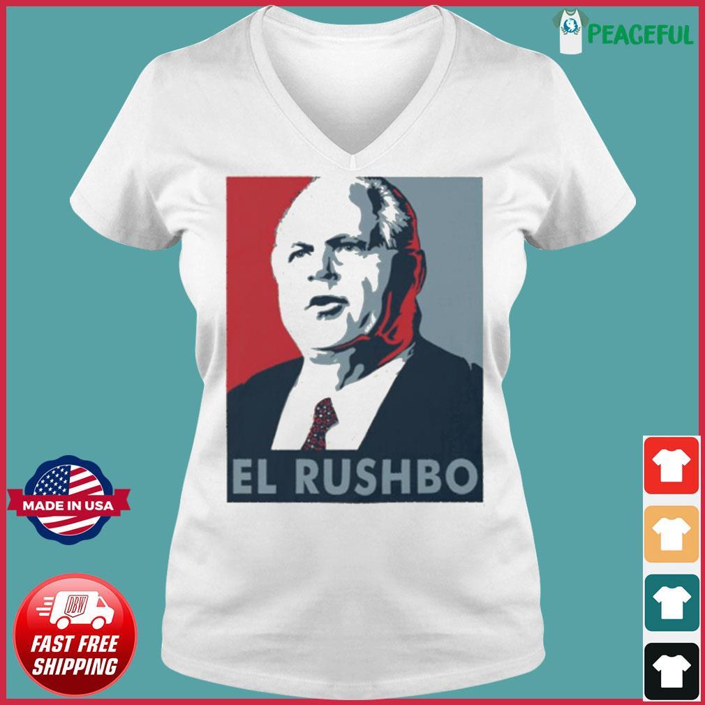 El Rushbo Unisex T-s Ladies V-neck Tee