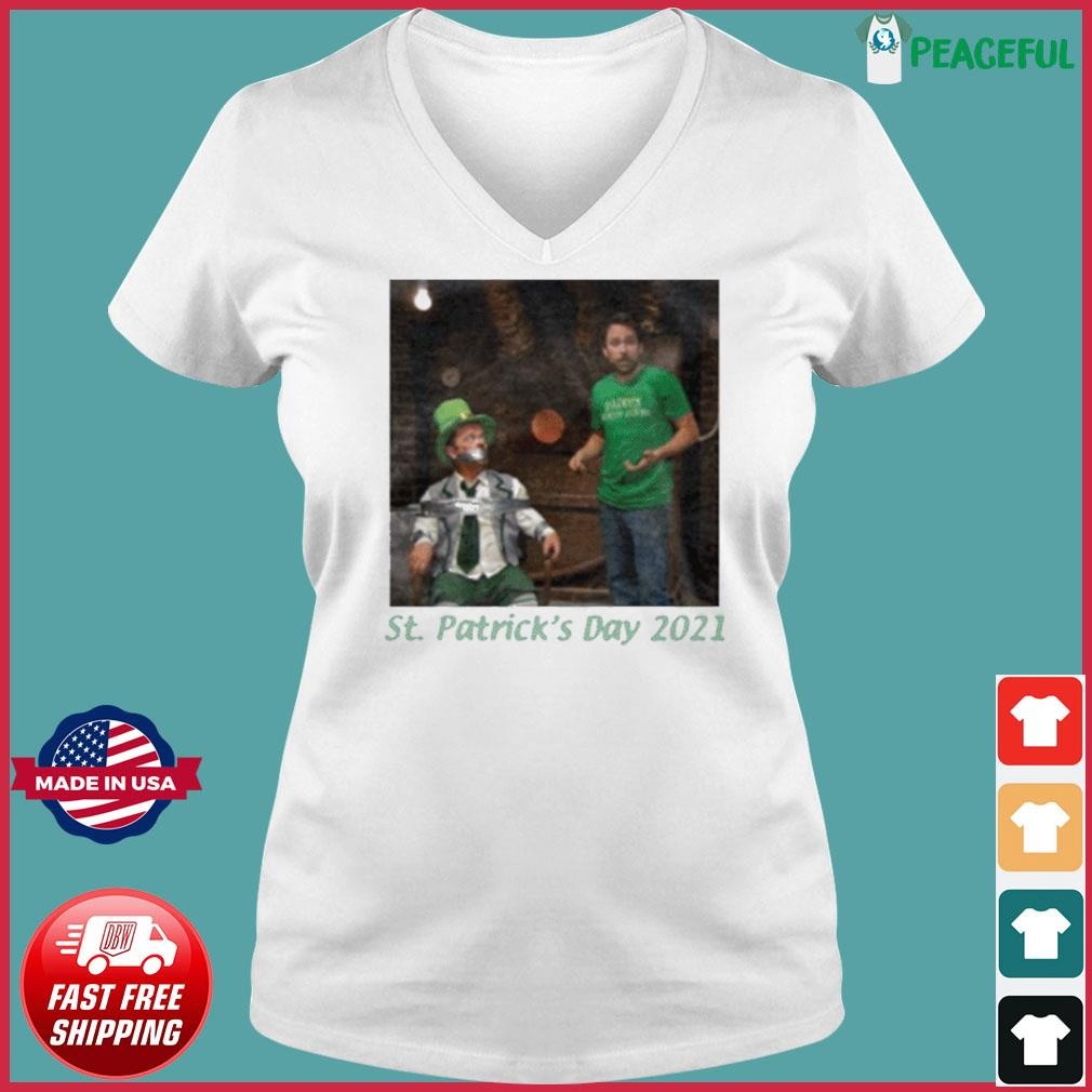 St. Patrick's Day 2021 Tee Shirt Ladies V-neck Tee