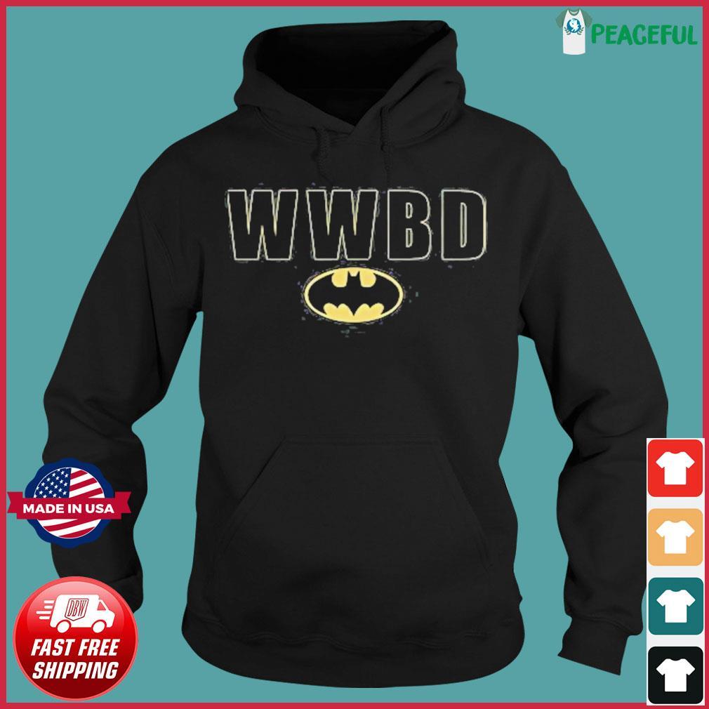 Official Batman Wwbd Logo Shirt Hoodie