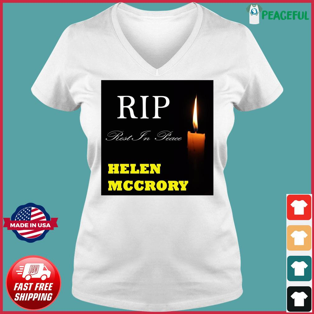 Official RIP Helen McCrory Rest In Peace Shirt Ladies V-neck Tee