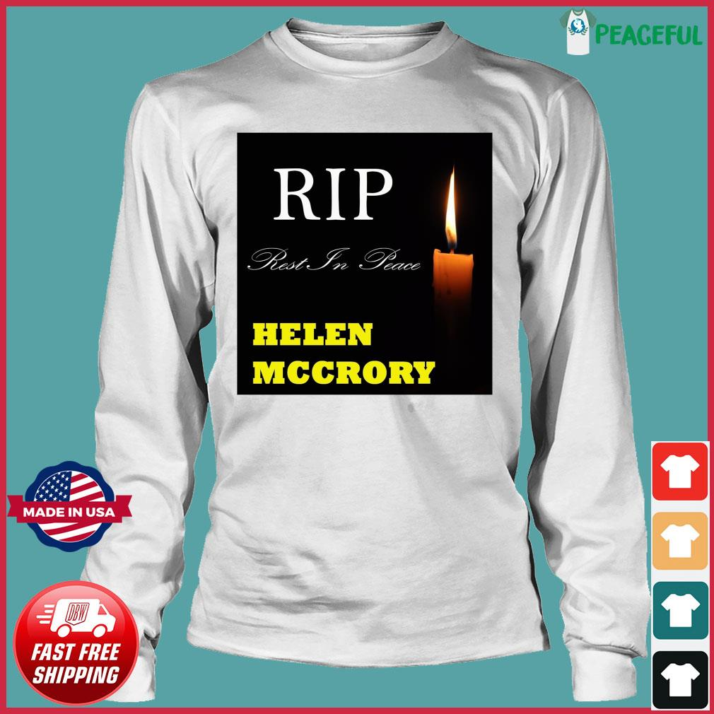 Official RIP Helen McCrory Rest In Peace Shirt Long Sleeve Tee