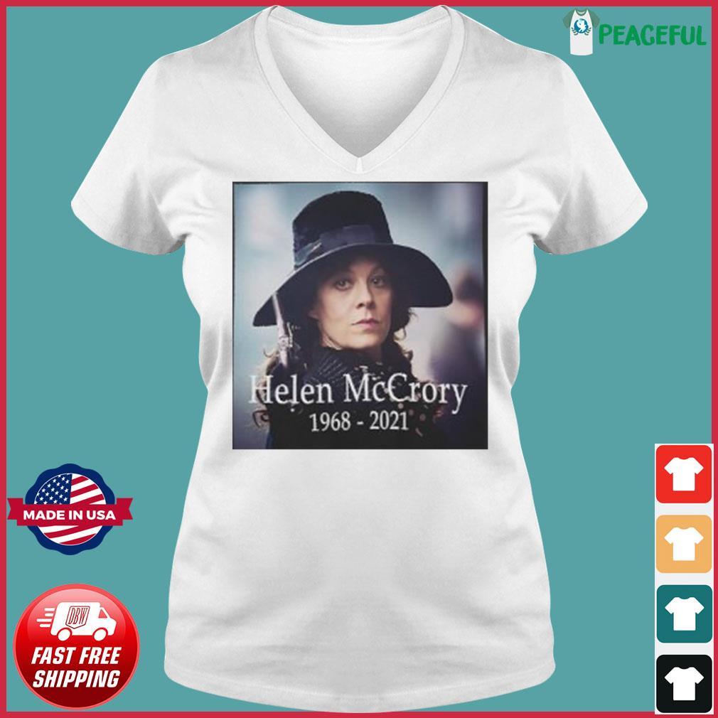The Helen McCrory RIP 1968 2021 s Ladies V-neck Tee