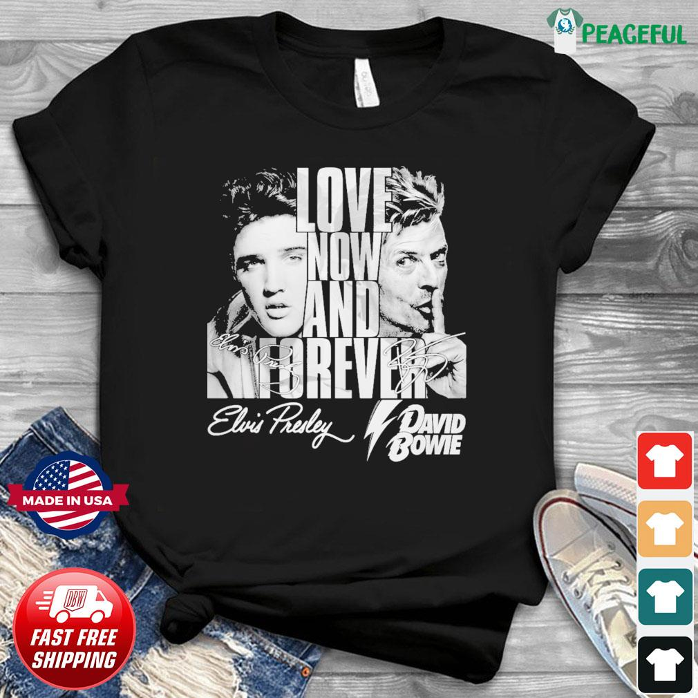 Love now and forever david bowie shirt