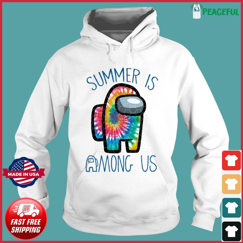 Official Summer Is Among Us - Among Us Impostor Art Color Shirt Hoodie