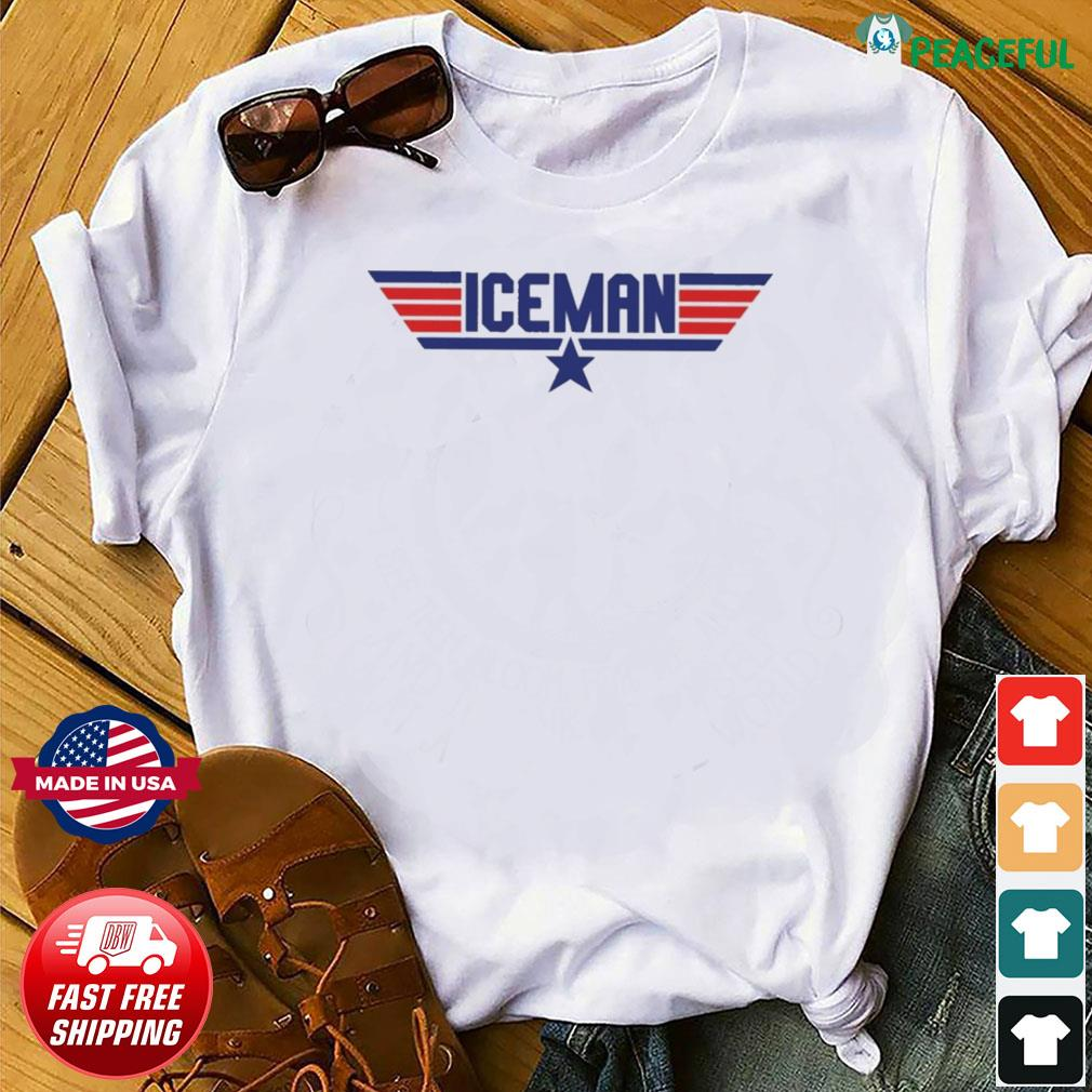 Official Top Gun Iceman T-shirt