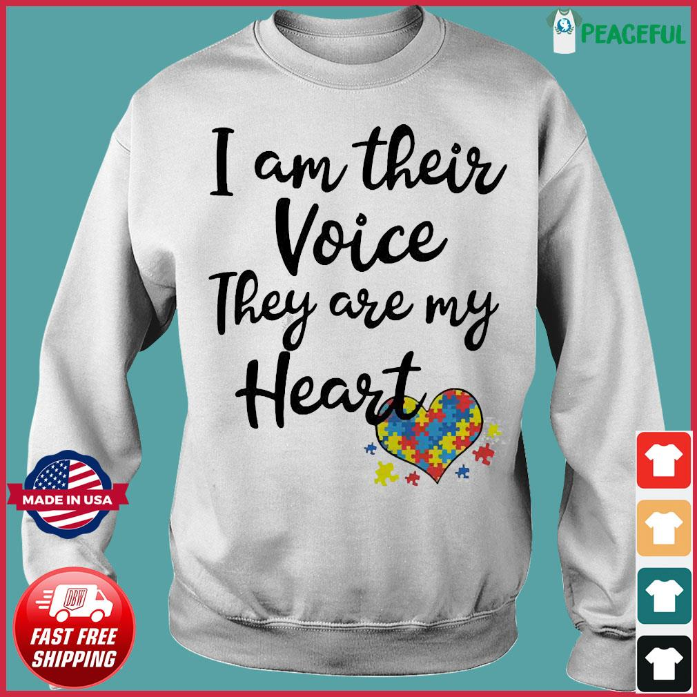 I am their voice they are my Heart s Sweater