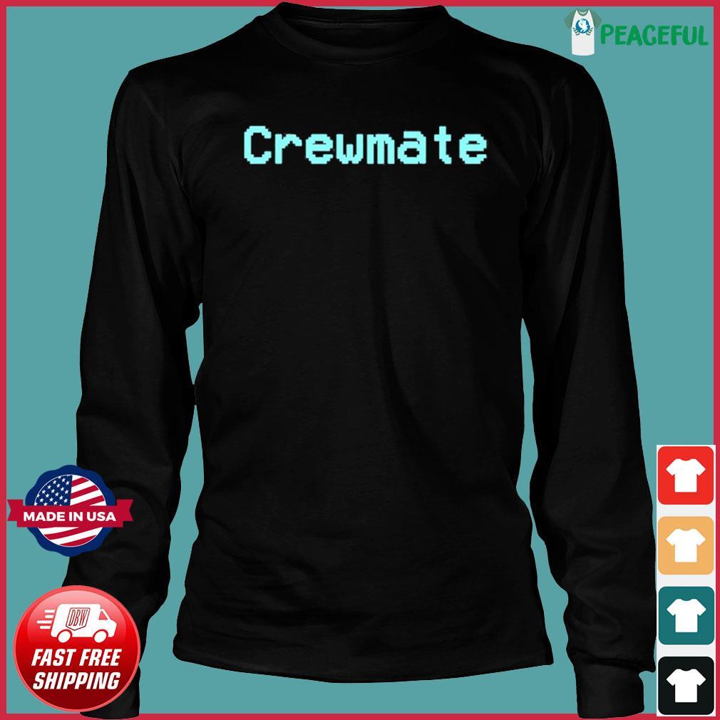 Among Us Crewmate Crew Mate Impostor Imposter Video Game Shirt Long Sleeve