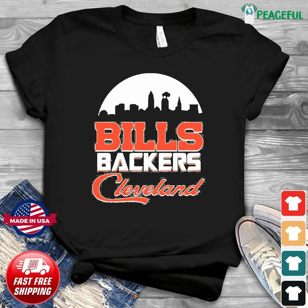 Bills Backers Cleveland shirt