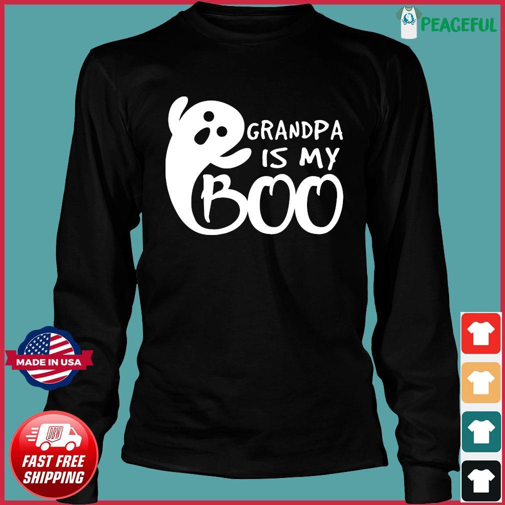 Grandpa Is My Boo Shirt Long Sleeve
