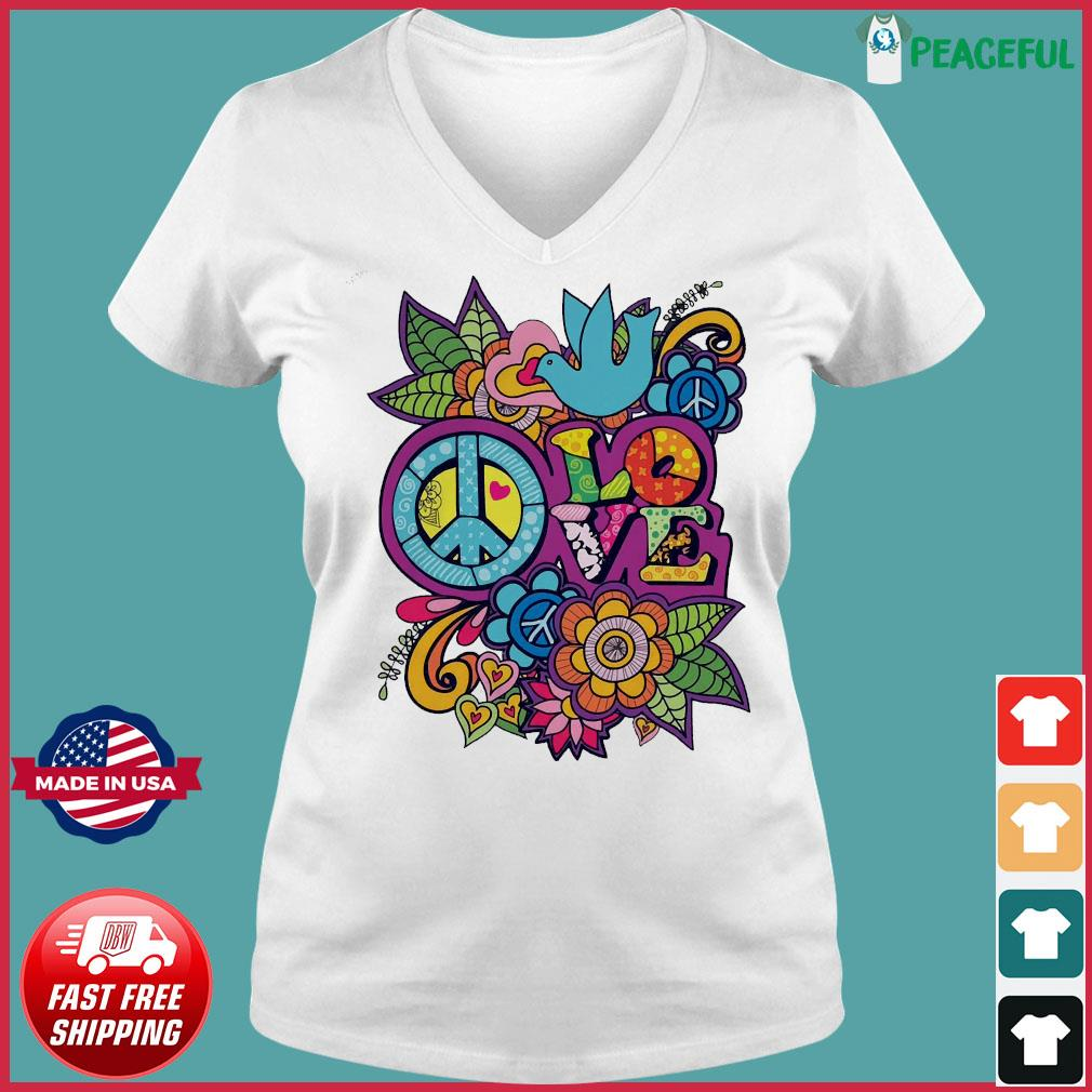Love Shirt Ladies V-neck Tee