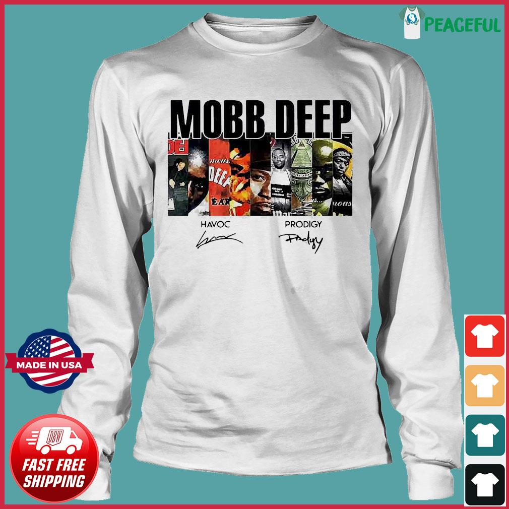 Mobb Deep Signature Shirt Long Sleeve Tee