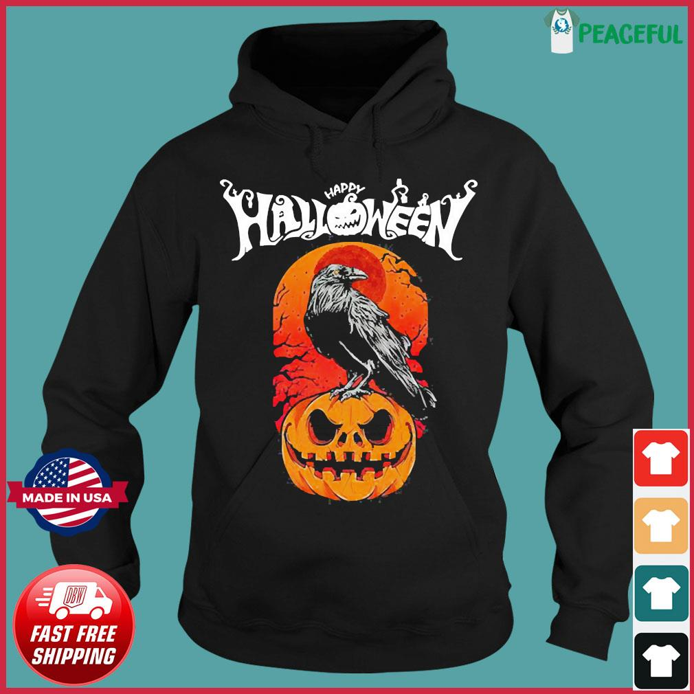 Raven happy Halloween s Hoodie