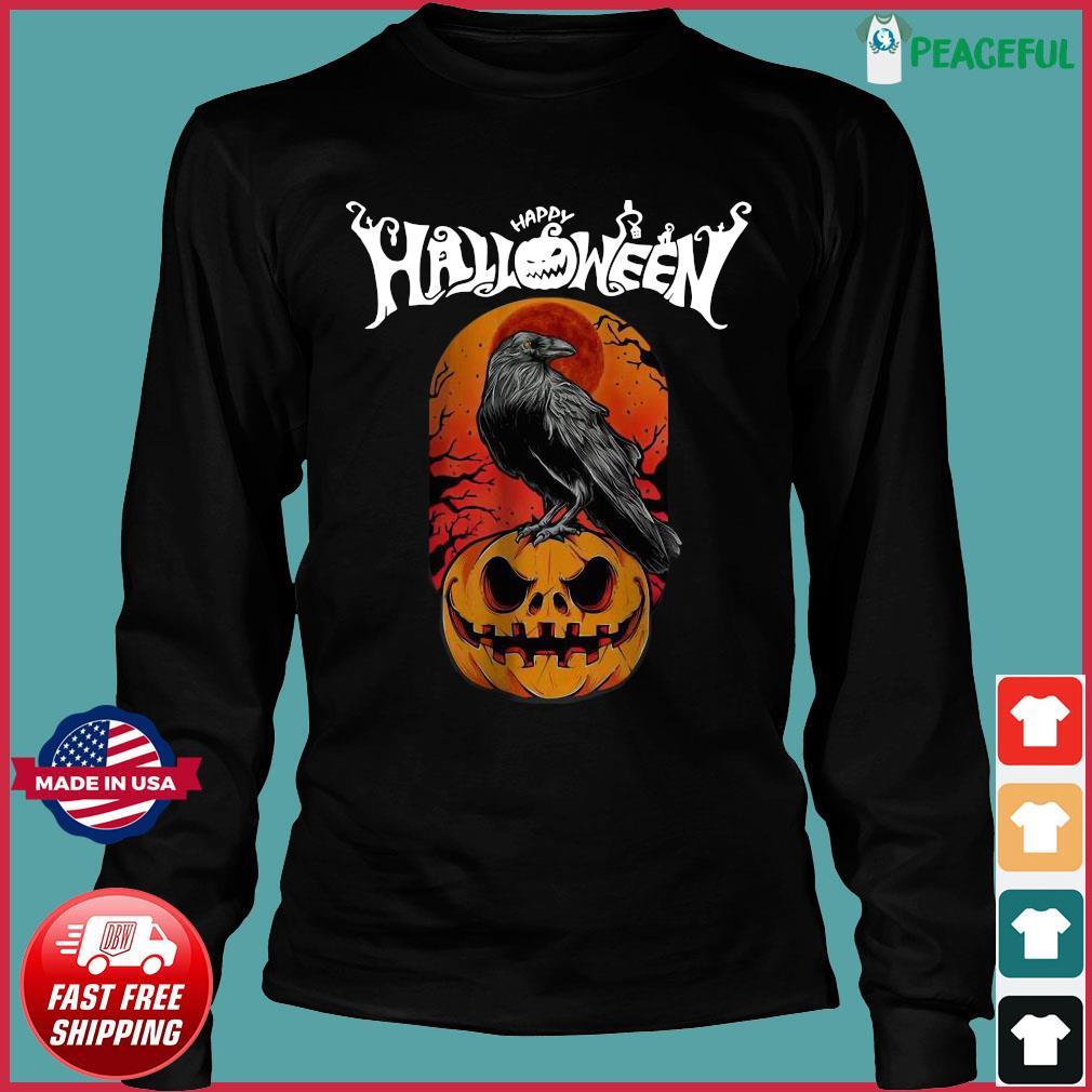 Raven happy Halloween s Long Sleeve
