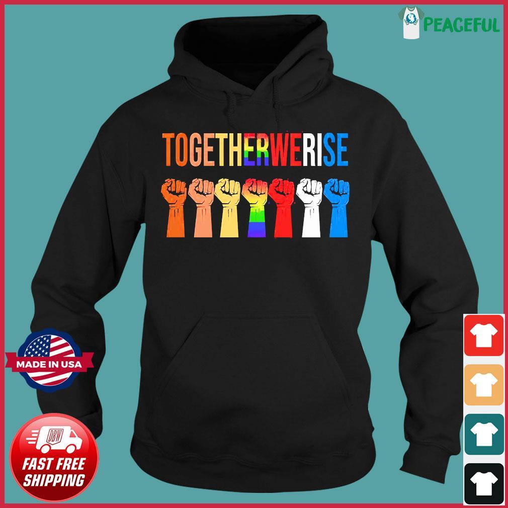 Togetherwerire Black Lives Matter Symbol LGBT Shirt - Copy Hoodie