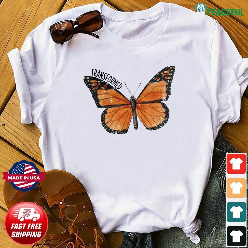 Transformed Butterfly shirt