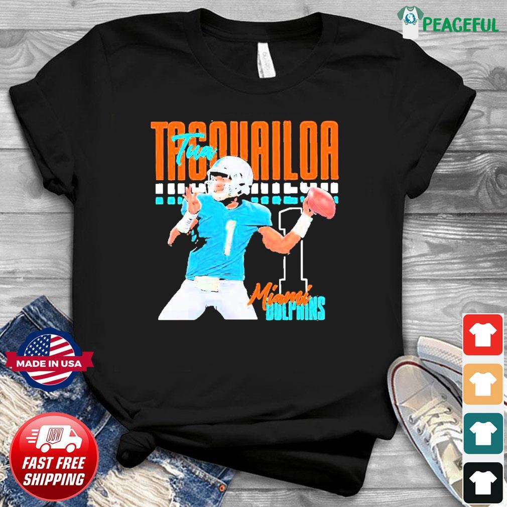 Tua tagovailoa 1 miami dolphins football player Shirt