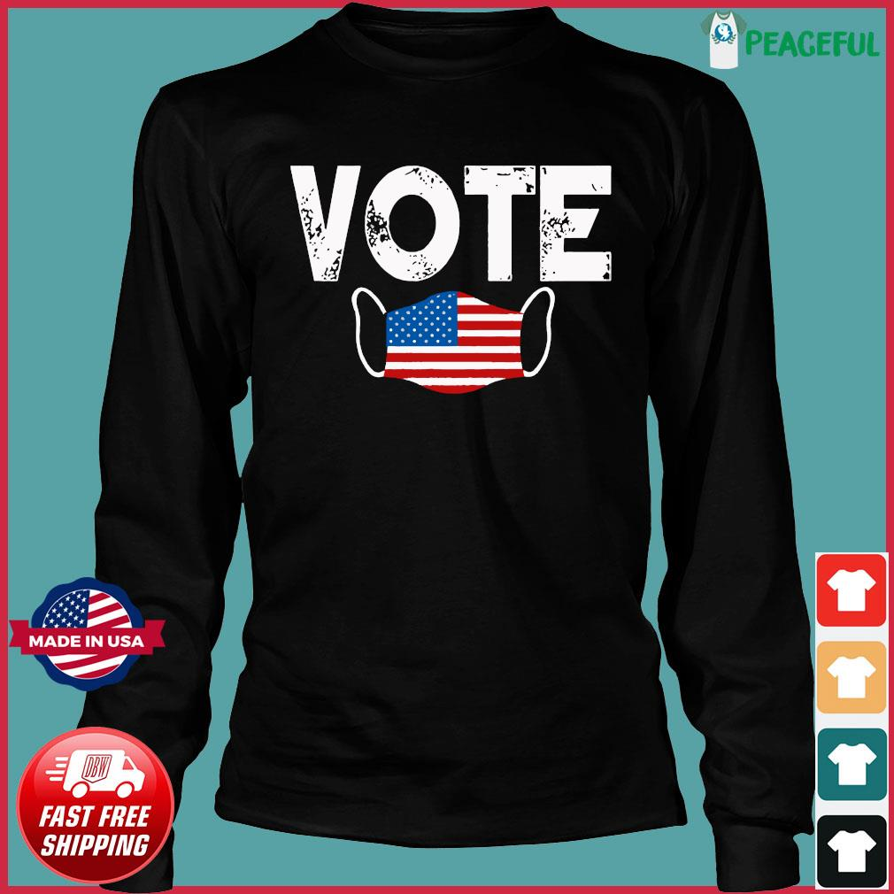 Vote Election Retro Vintage Anti Trump 2020 Election Shirt Long Sleeve