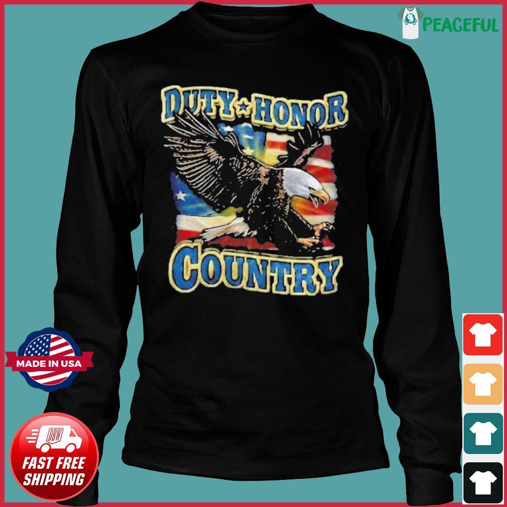 Eagle Duty Honor Country US s Long Sleeve