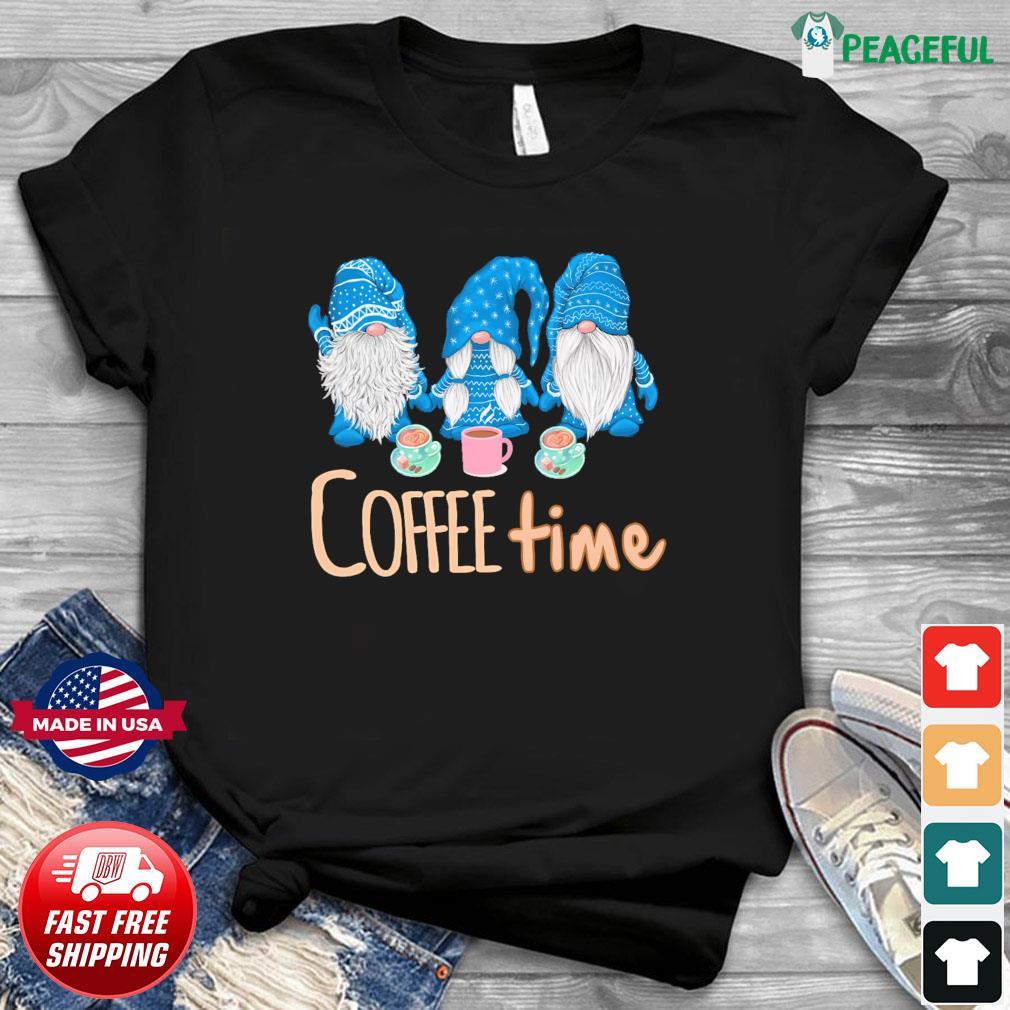 Gnomes Coffee Time Christmas Sweatshirt