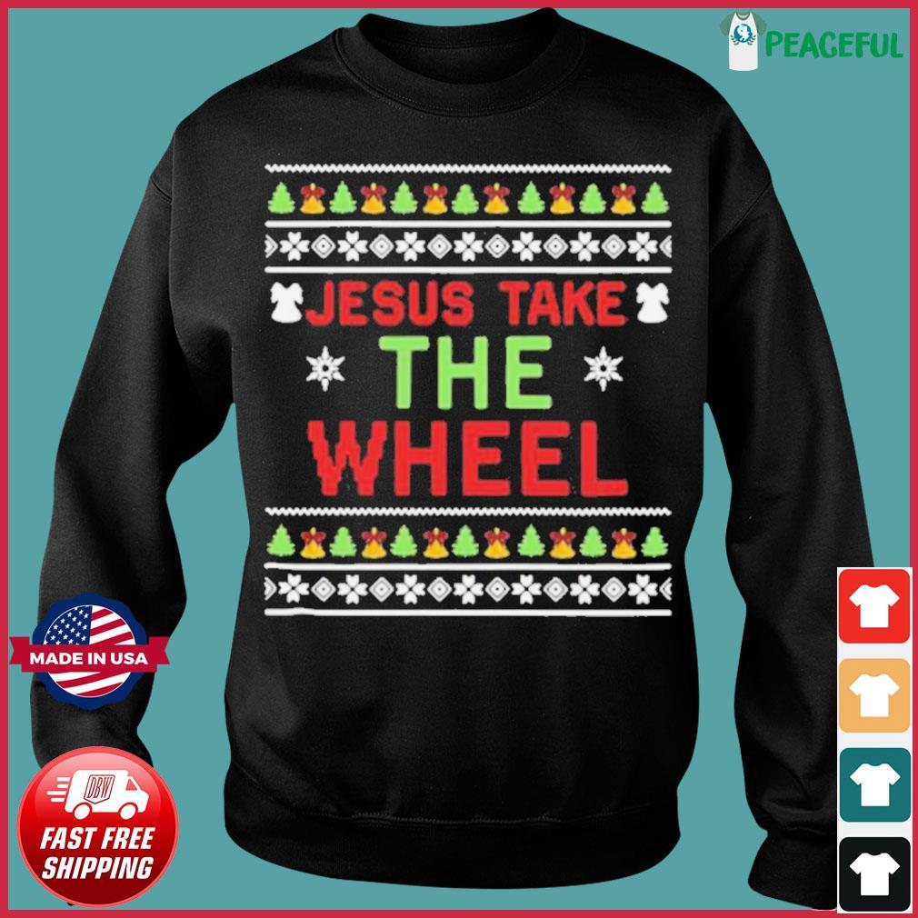 Jesus Take The Wheel Ugly Christmas s Sweater