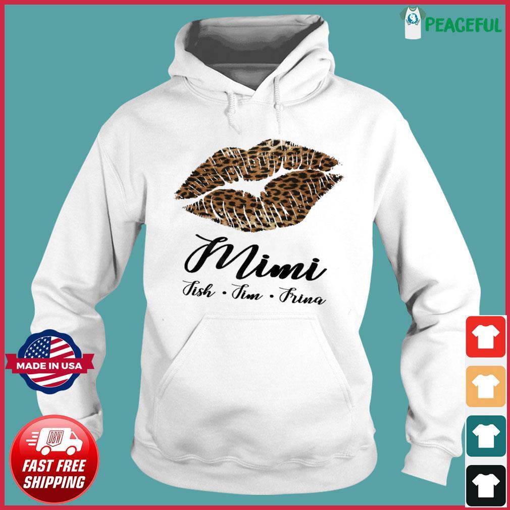 Lips Mini Fish Fim Frima Shirt Hoodie