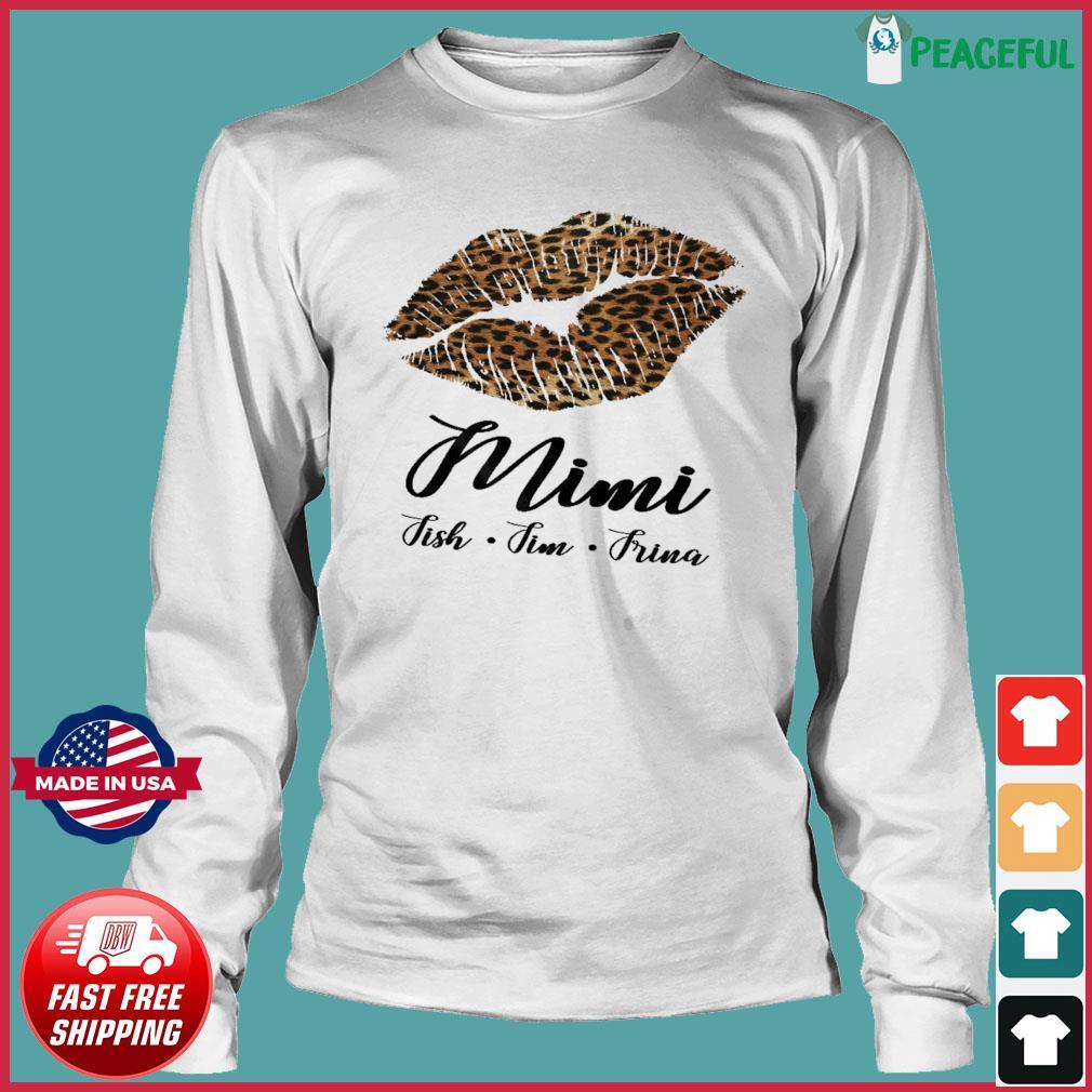 Lips Mini Fish Fim Frima Shirt Long Sleeve Tee