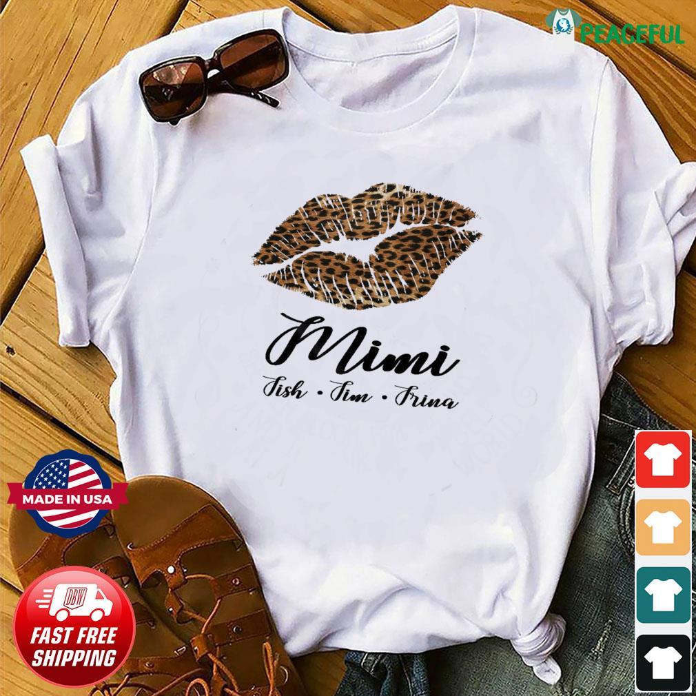 Lips Mini Fish Fim Frima Shirt