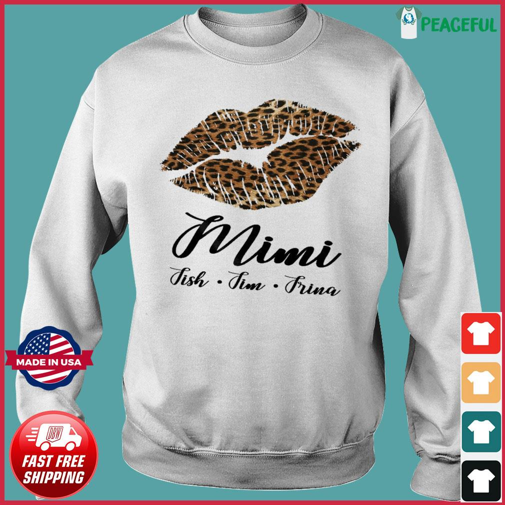 Lips Mini Fish Fim Frima Shirt Sweater
