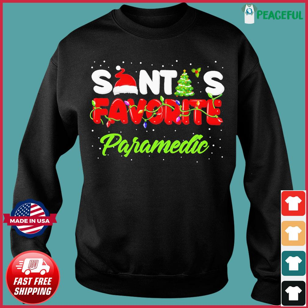 Santa's Favorite Paramedic Christmas Sweats Sweater