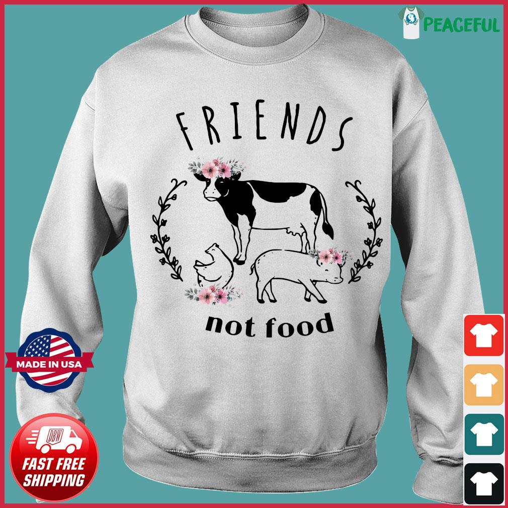 The Cow Friends Not Food Shirt Sweater